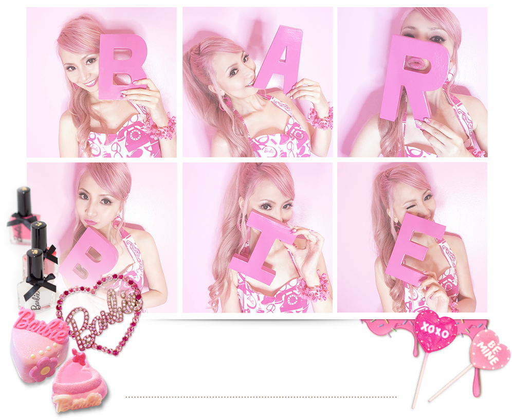 Azusa Barbie is a Barbie Blogger who is a Barbie-ish Nail Artist based in LA. Sharing Barbie collections and a-doll-able nail designs for Barbie dolls.