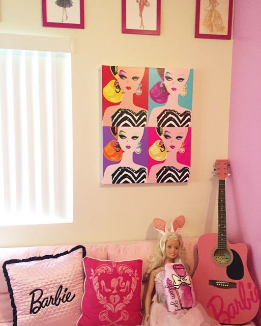 Azusa Barbie » POP ART Barbie Canvas♡